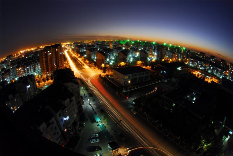 新农村夜景