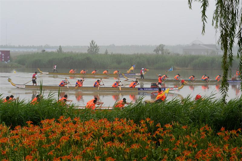 东丽湖农民龙舟赛
