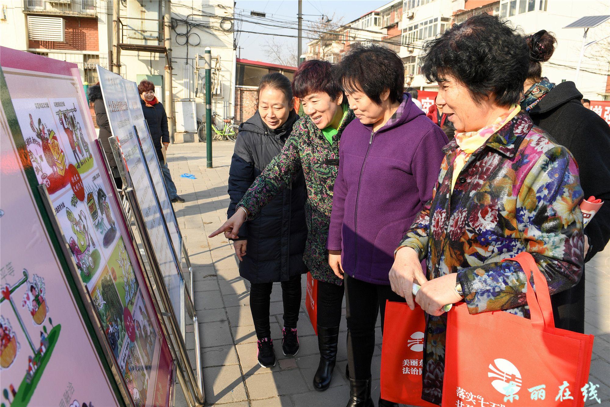 """丰年村街开展""""12.4""""国家宪法日集中宣传活动"""